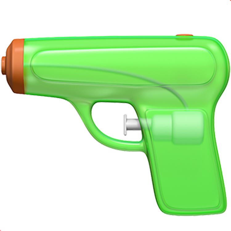 pistola emoji