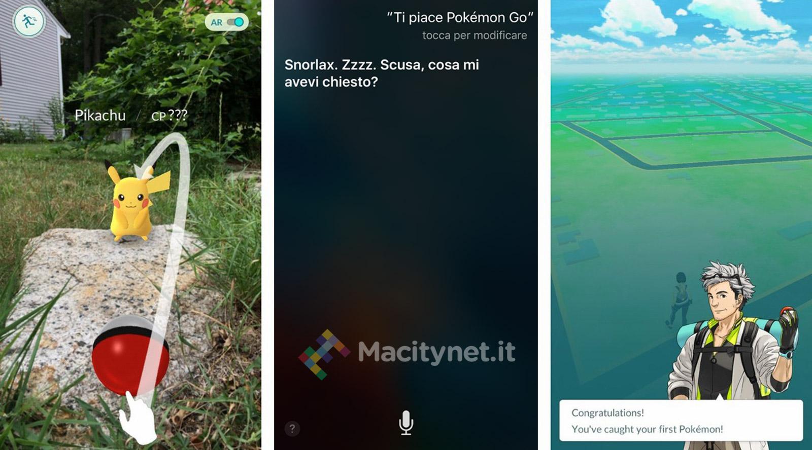 Pokémon Go Siri