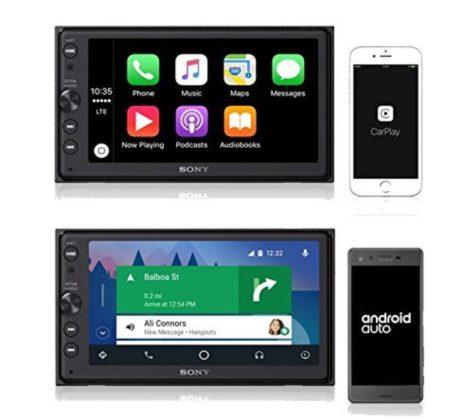 Sony XAV-AX100, un sistema audio per auto compatibile CarPlay