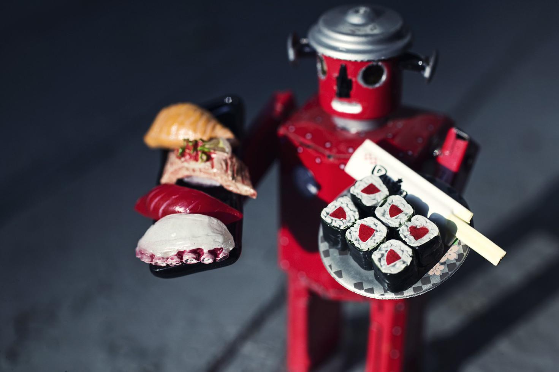 sushi chef robot
