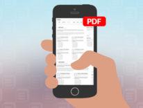 Con iOS 10 e 3D Touch si esporta in PDF con un click: ecco come