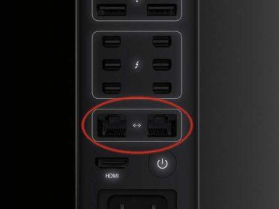 Doppia Gigabit Ethernet