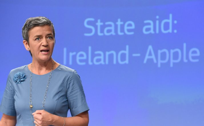 Margrethe Vestager: Foto: John Thys/AFP via Getty Images
