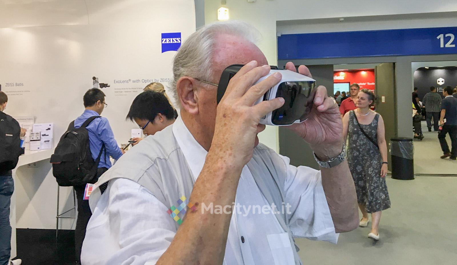 IFA 2016 Macitynet 01 - Zeiss VR One Plus