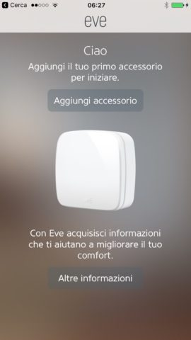 Sicurezza di Homekit