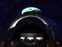 Le meraviglie dell' LG OLED tunnel ad IFA nel nostro video a 360 gradi