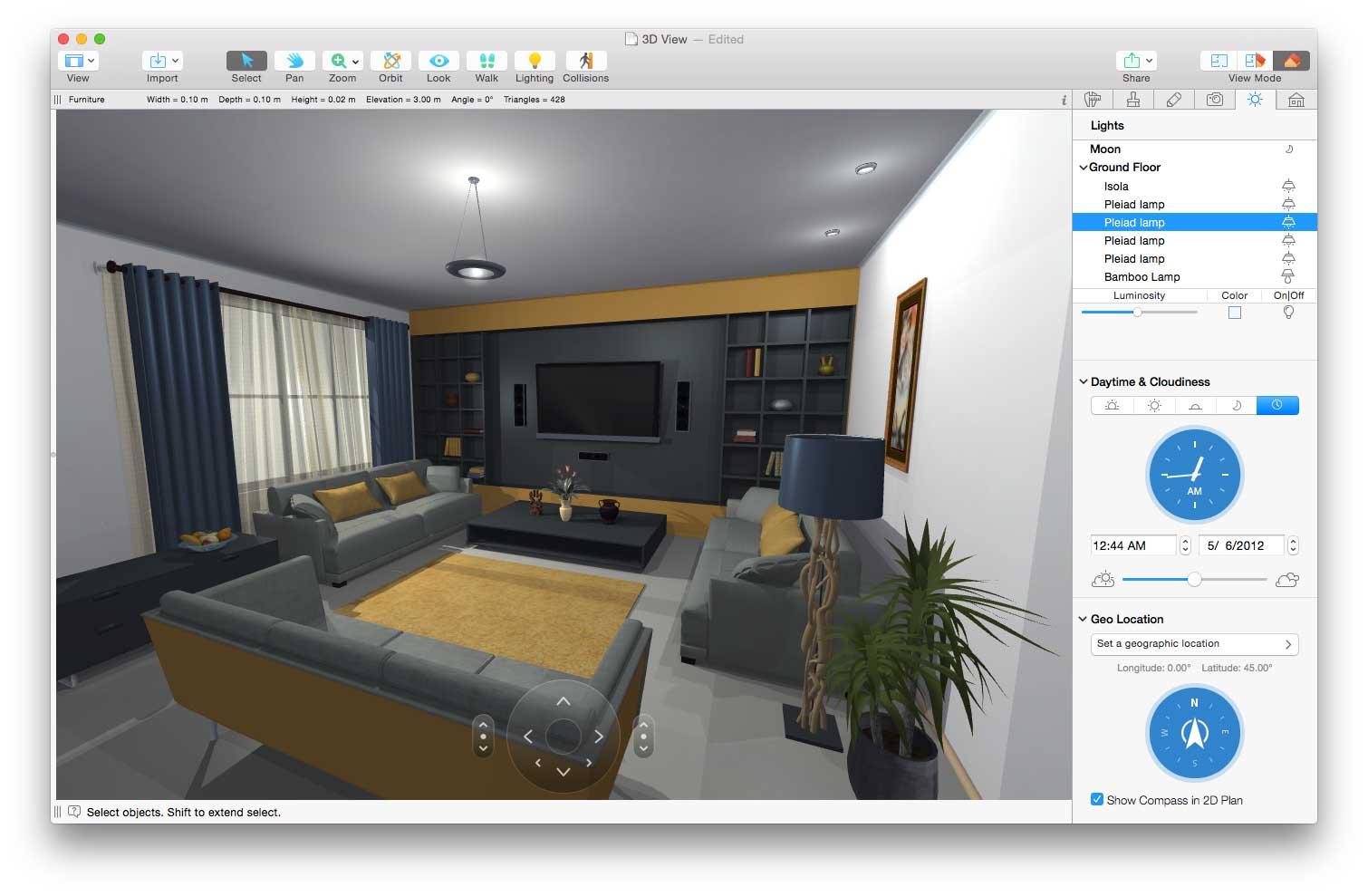 Progettazione Dinterni Gratis : Live home 3d il software per arredo di interni e piantine su mac