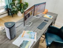 Nuovi PC desktop e compatti da HP, incluso un modello con scocca triangolare