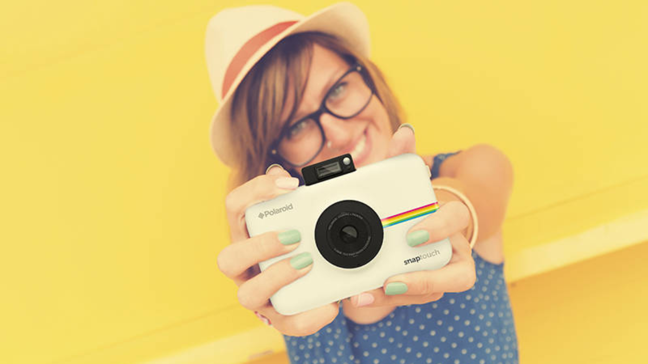 Polaroid Snap Touch è La Fotocamera Istantanea Che Fa Anche