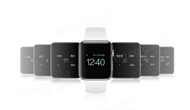 Su Banggood il clone Apple Watch con schermo OLED costa solo 47,28 euro
