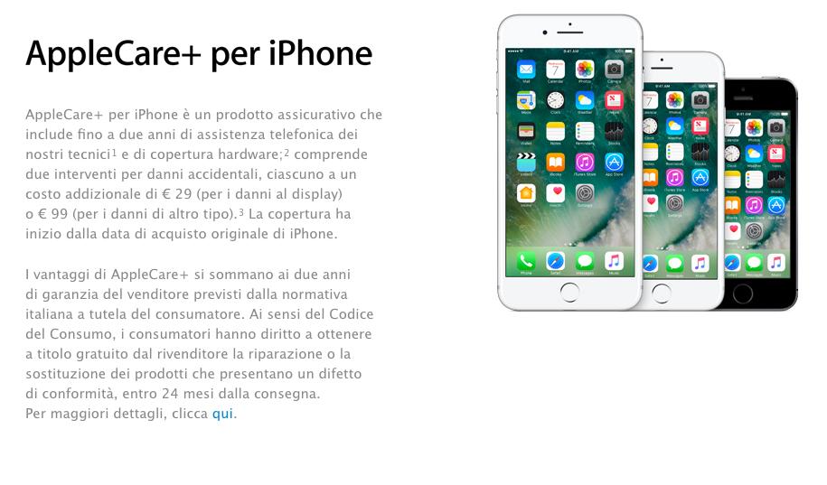 applecare+ iphone