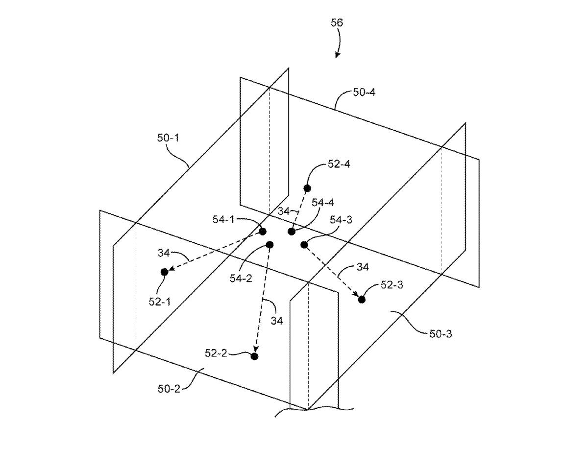 Apple brevetta  brevetto apple laser 3d 2