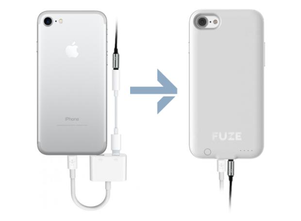 cover fuze jack audio