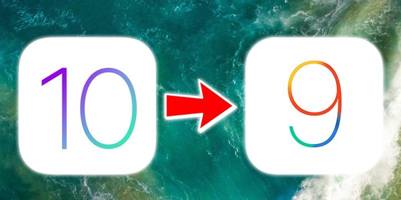 ios 9.3.5 downgrade iOS 10