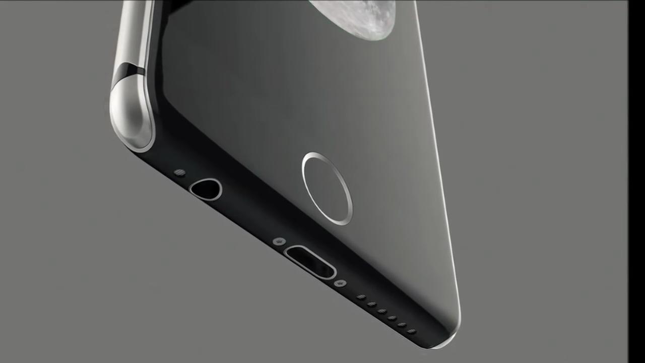 iPhone 8 vetro acciaio