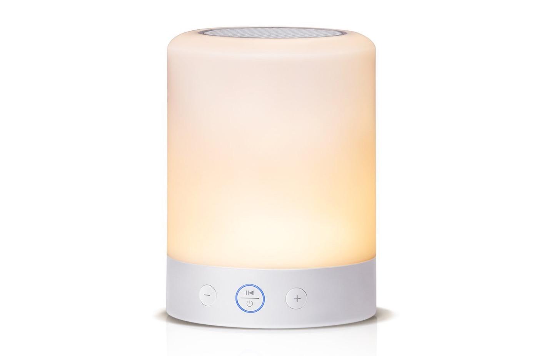 Lampada da comodino con radio, Bluetooth e microSD: 28,79 euro con codice Macitynet