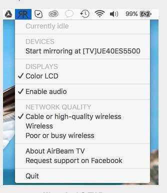 Mirror for LG TV, duplica in WiFI lo schermo del Mac sulle