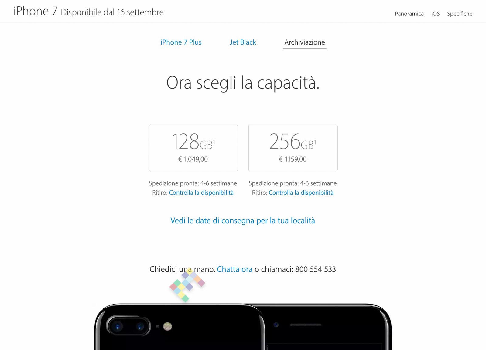 pre-ordini iPhone 7