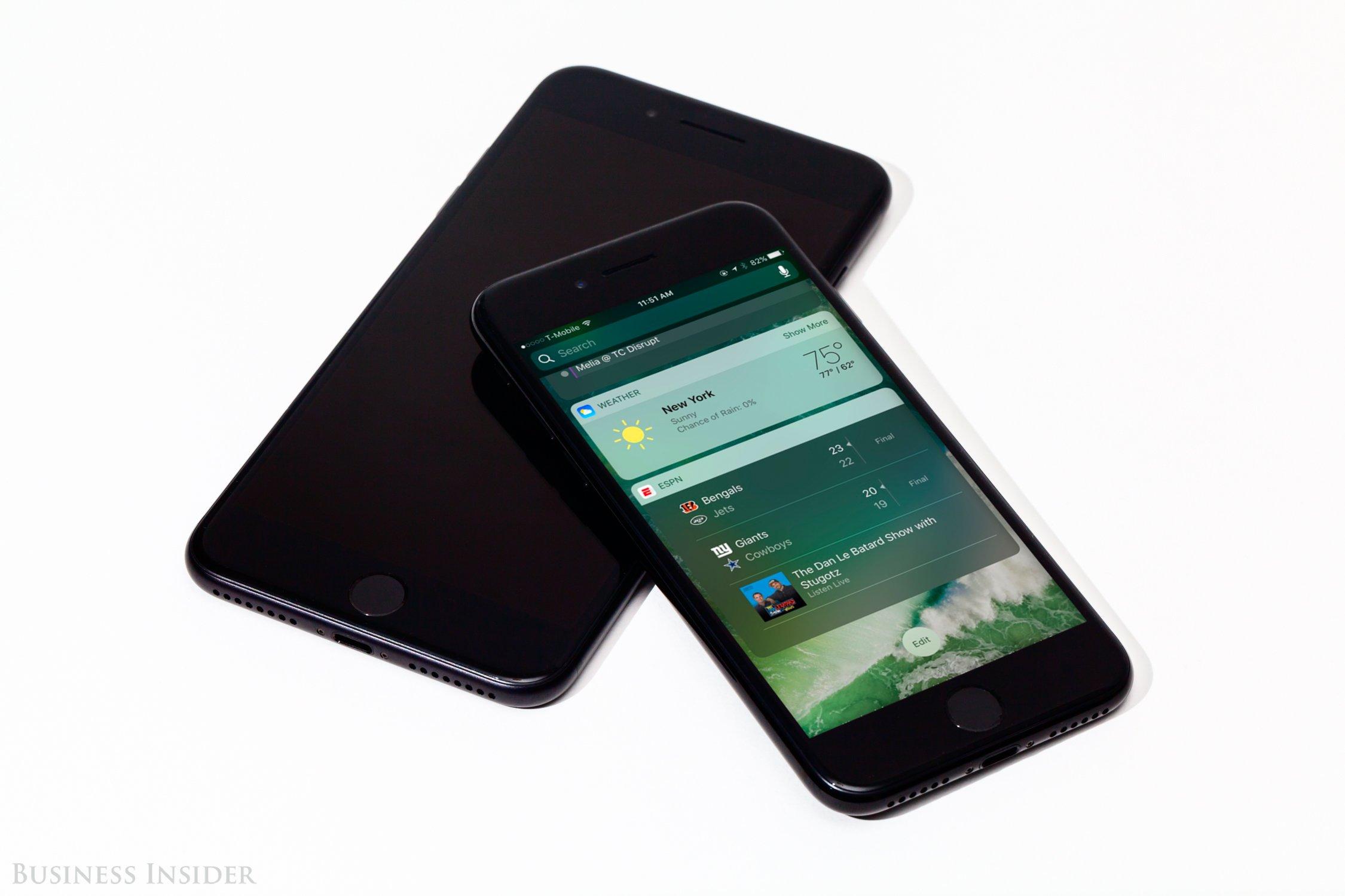 ricapitolando ios 10 iphone 7