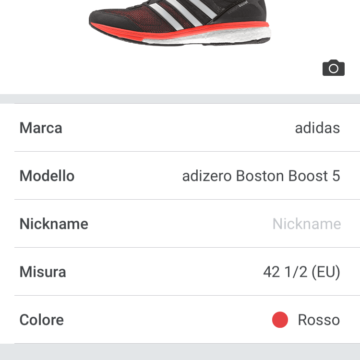 Shoe Tracking