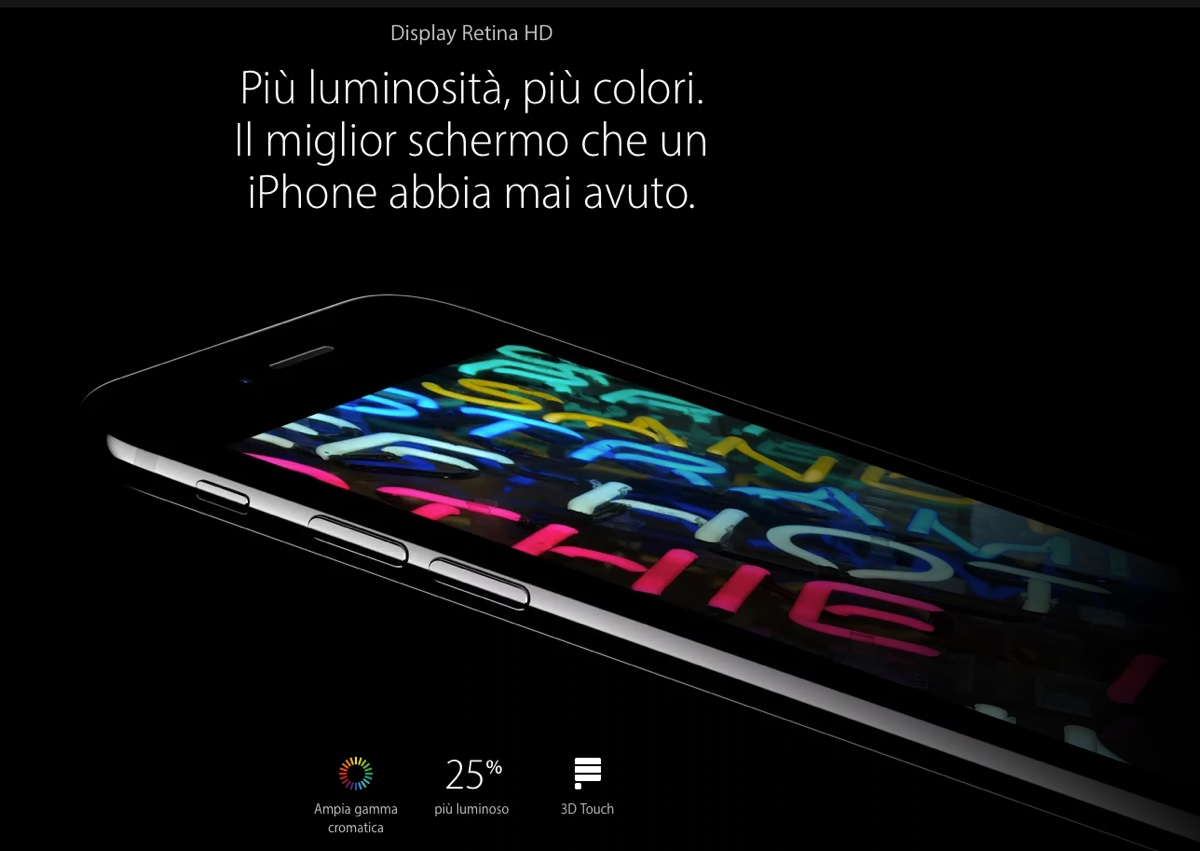 schermo iPhone 7 apple 1200