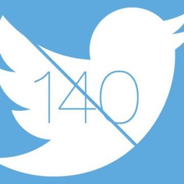 twitter 140 limite 800