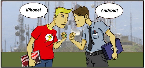 utenti android vs utenti iphone 1