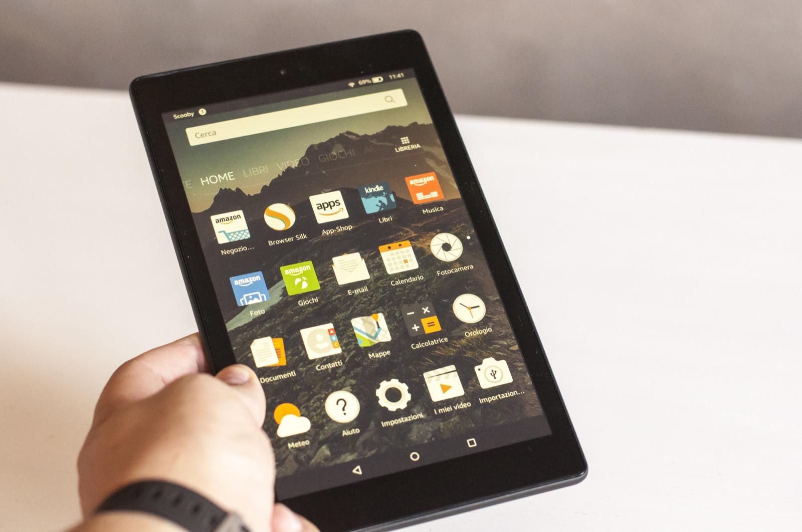 Kindle Fire HD 8, in prova il tablet di Amazon - Macitynet.it - photo#40