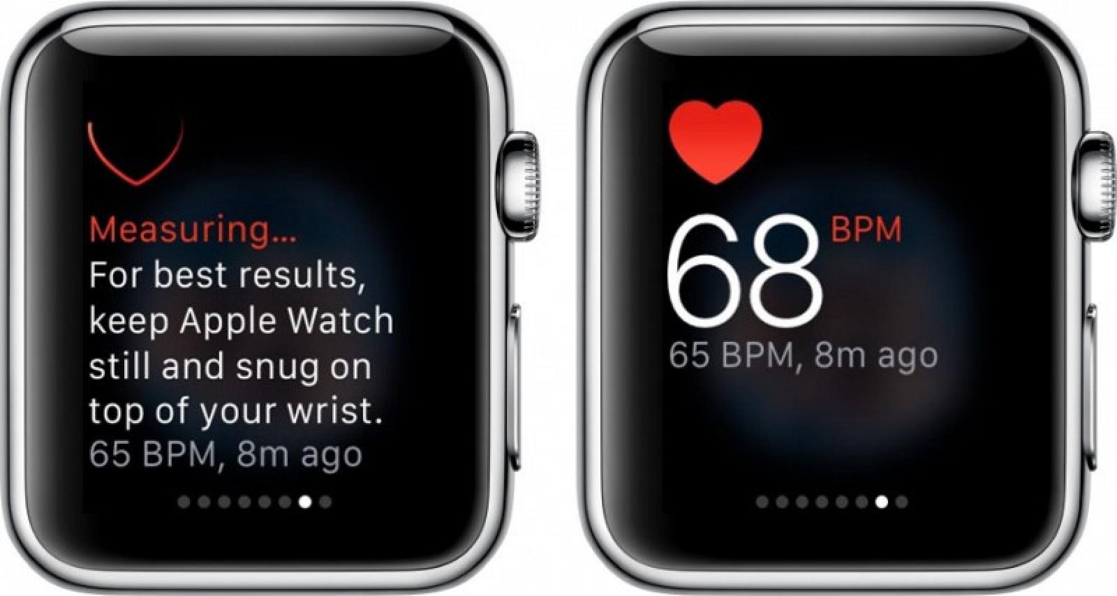 Apple Watch precisione cardiofrequenzimetro