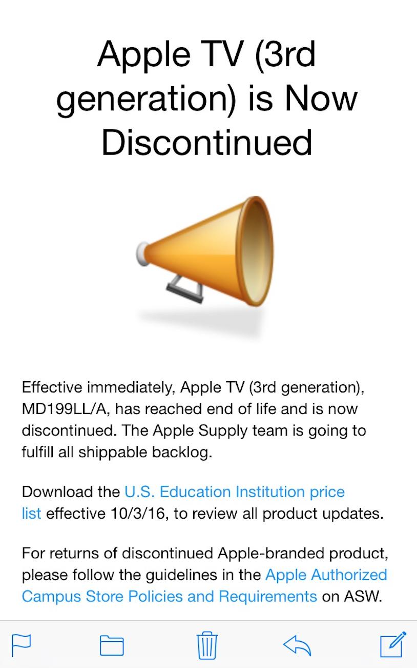 Apple tv 3 3