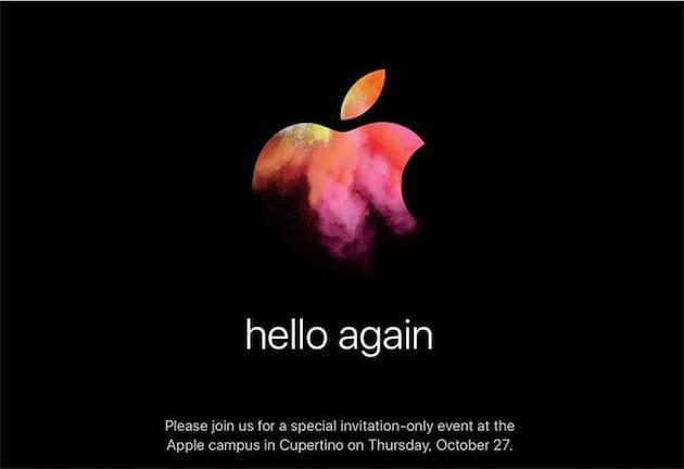 Hello Again Le Immagini Di Sfondo Del Keynote Apple 27 Ottobre