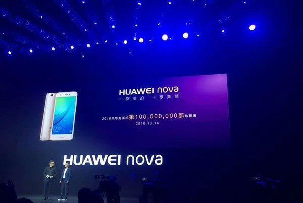 huawei ha venduto 100 milioni di dispositivi