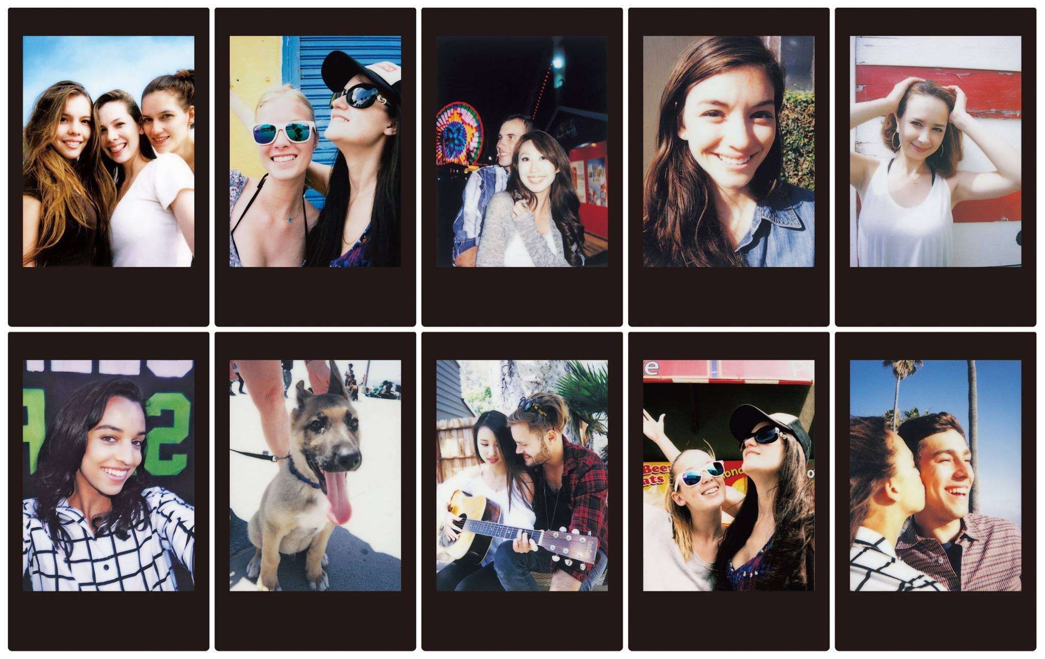 Instax Black e Sky Blue