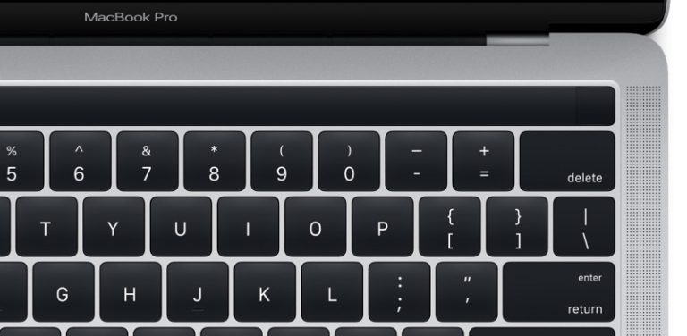 MacBook Pro 2016 con Touch ID 2