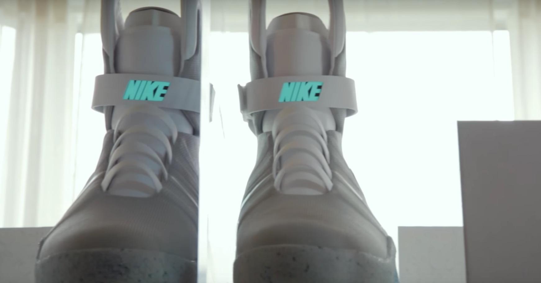 scarpe nike ritorno al futuro video