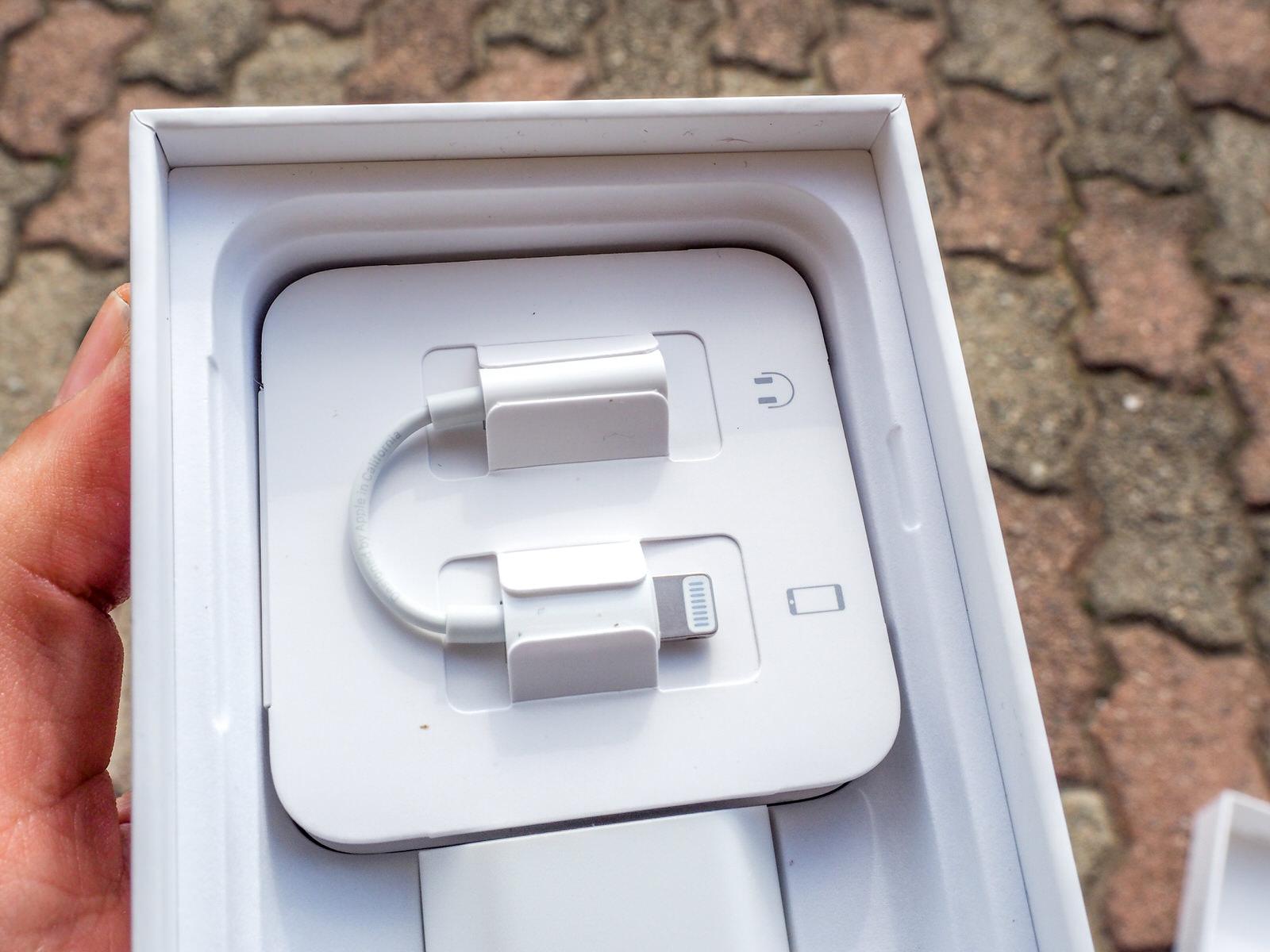 Recensione iPhone 7 adattatore Lightning