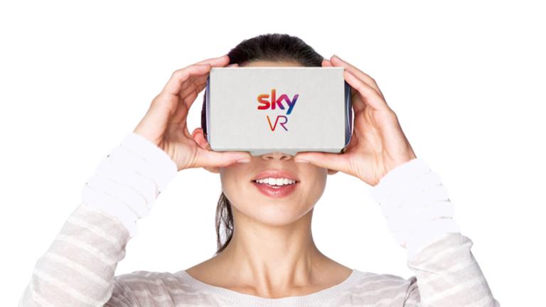 Con Sky VR la televisione si guarda in realtà virtuale via app