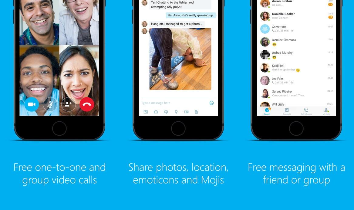 Skype messaggi Siri