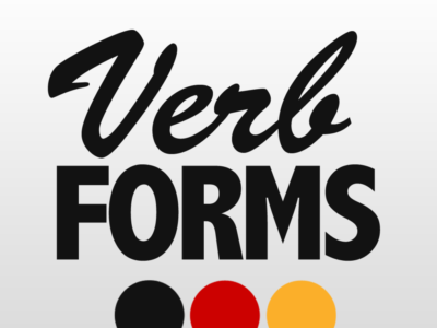 VerbForms Deutsch