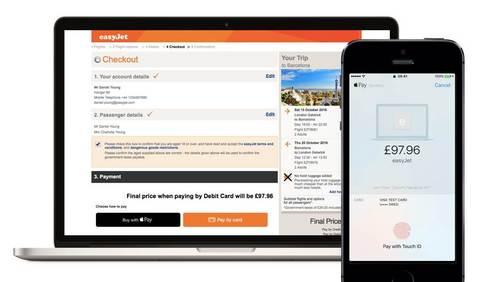 apple pay su web easyjet