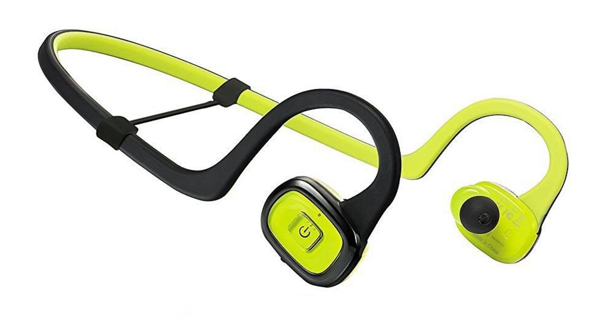 half off official site get new Sconto cuffie Bluetooth per sport, con cavo antigroviglio ...
