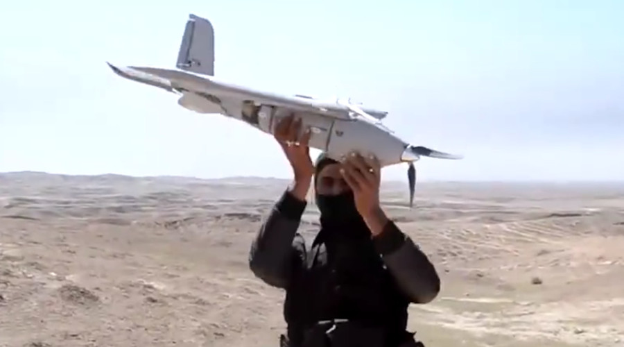 drone isis