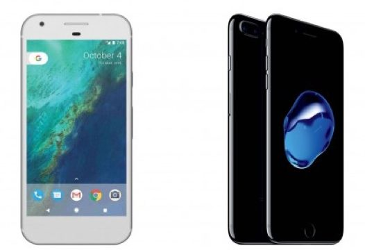 iPhone 7 contro Google Pixel icon 800