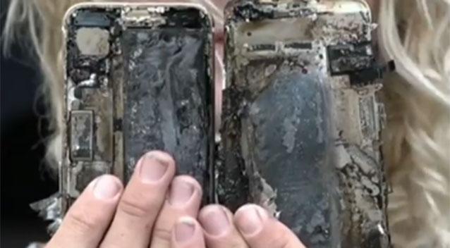 iPhone 7 fuoco
