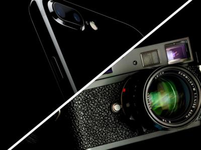iphone 7 contro leica m9-p