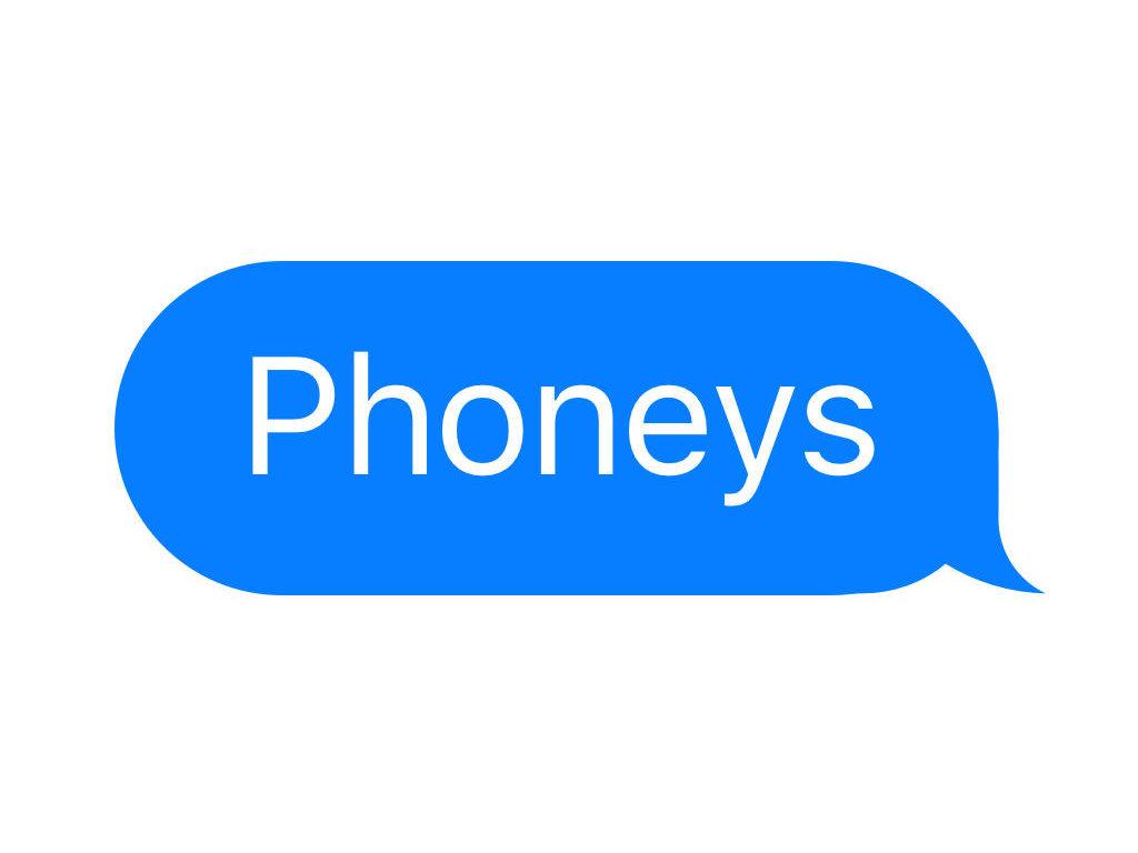phoneys