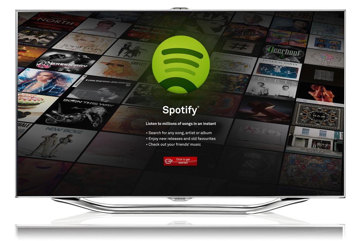 spotify Samsung Smart TV