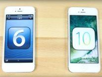 Test epico di velocità confronta cinque versioni di iOS su iPhone 5 del 2012