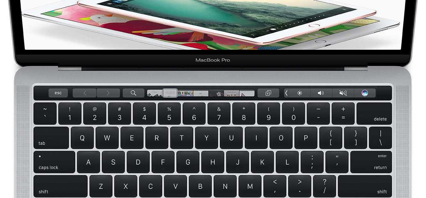 linee guida touch bar