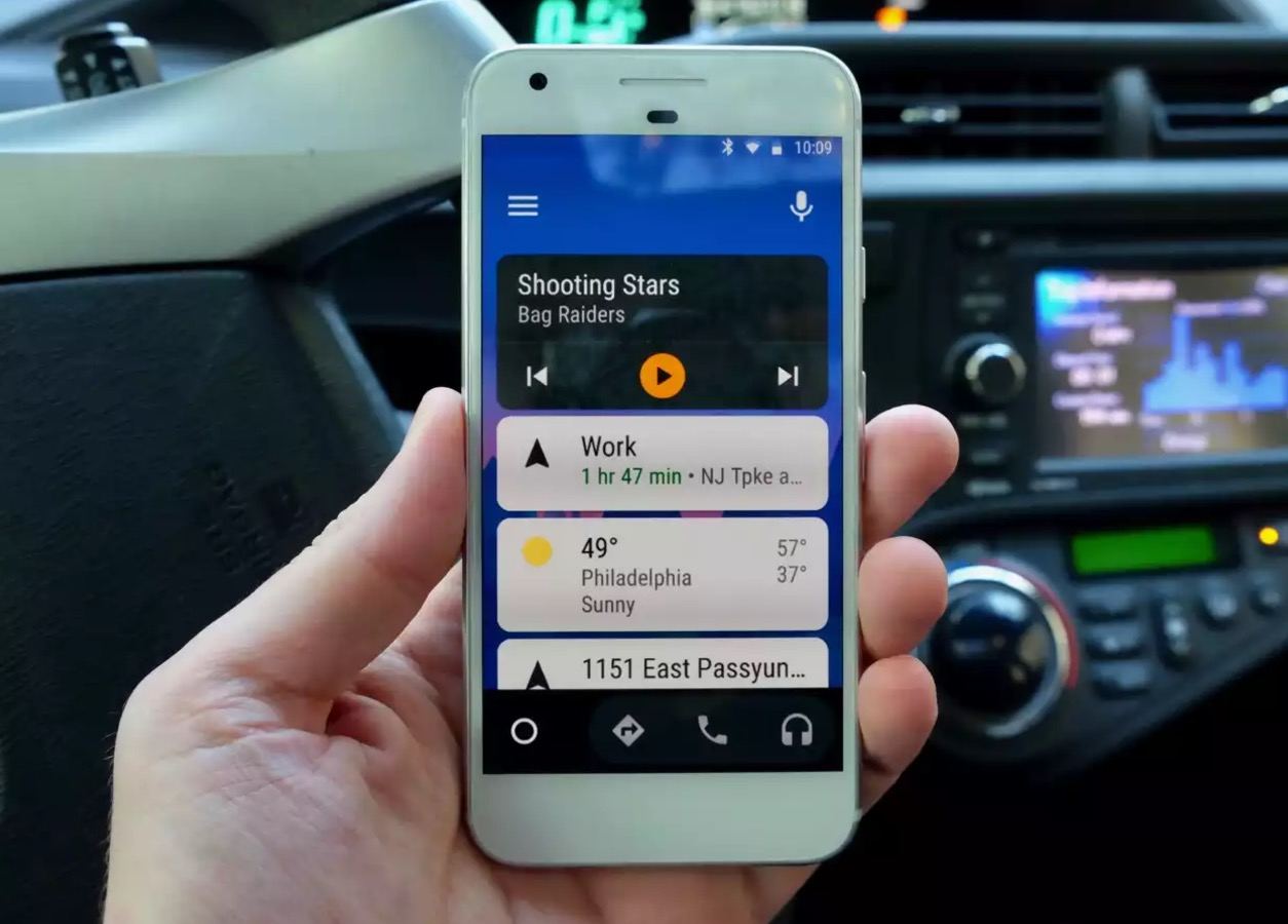 android auto smartphone app